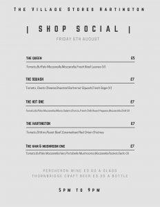 Shop Social Menu #1